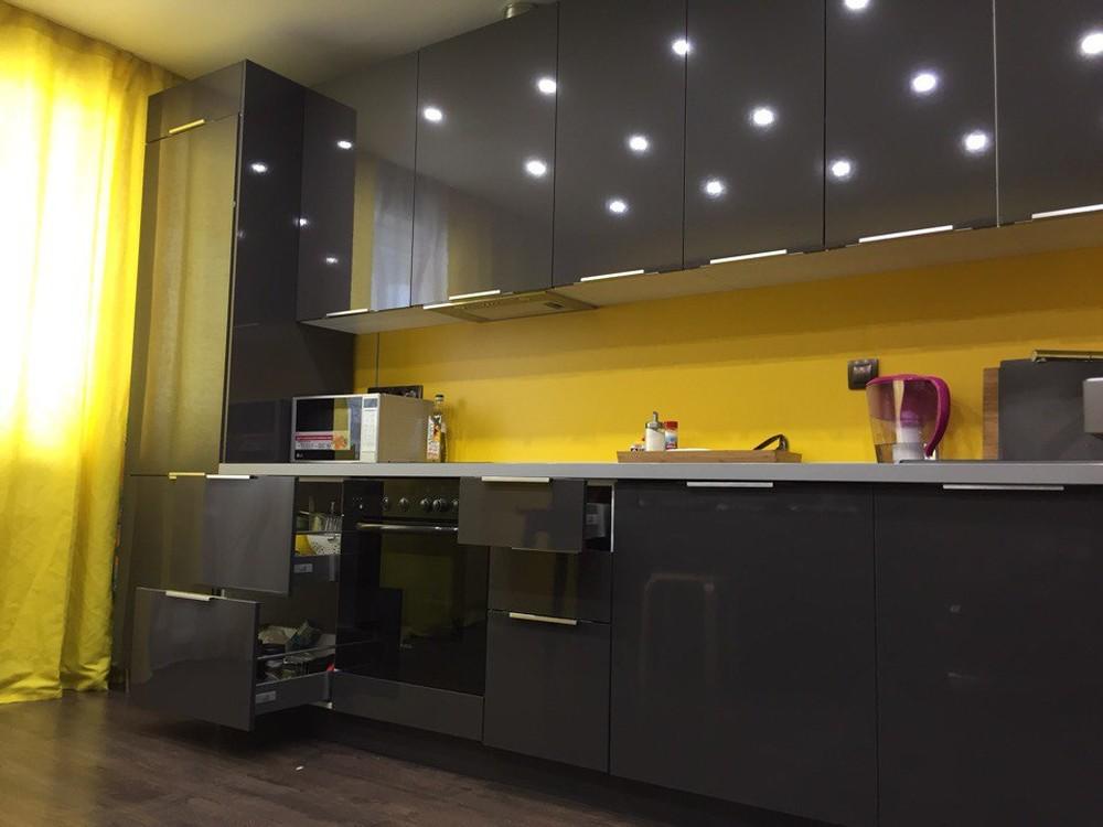 Встроенная кухня-Кухня МДФ в ПВХ «Модель 79»-фото2