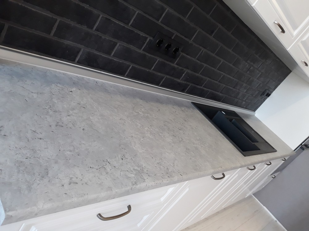 Белый кухонный гарнитур-Кухня МДФ в ПВХ «Модель 280»-фото2