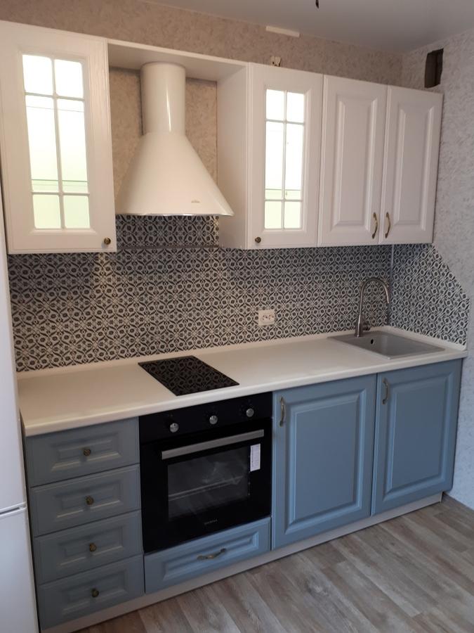 Белый кухонный гарнитур-Кухня «Модель 499»-фото1
