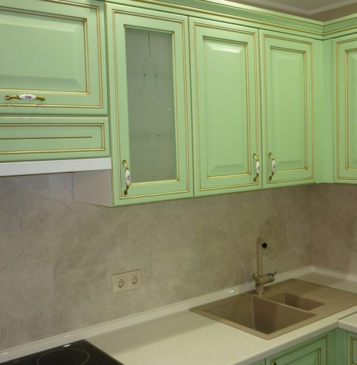 -Кухня МДФ в ПВХ «Модель 326»-фото1