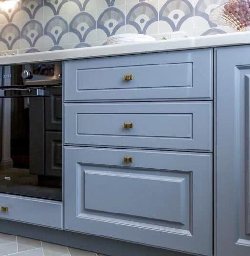 -Кухня МДФ в эмали «Модель 420»-фото26