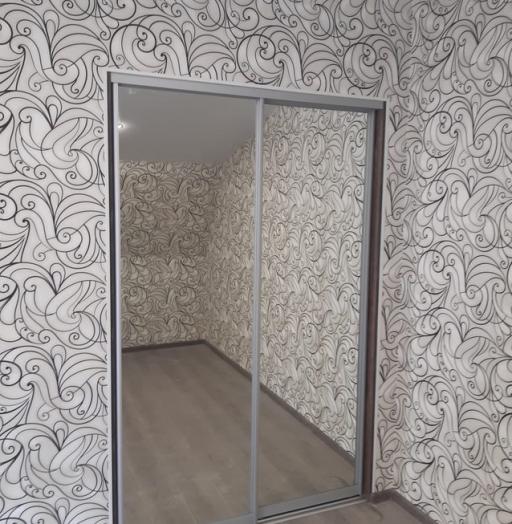Бельевой шкаф-купе-Шкаф-купе с зеркалом «Модель 469»-фото5