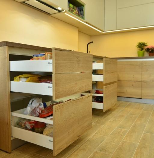 -Кухня из пластика «Модель 369»-фото25