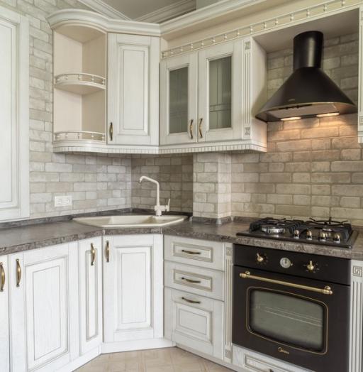 -Кухня из шпона «Модель 7»-фото4