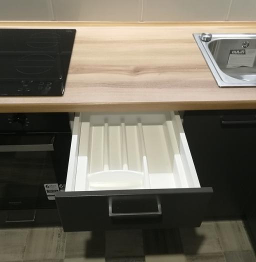 Купить зеленую кухню-Кухня МДФ в пластике «Модель 19»-фото10