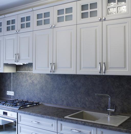-Кухня МДФ в ПВХ «Модель 147»-фото8