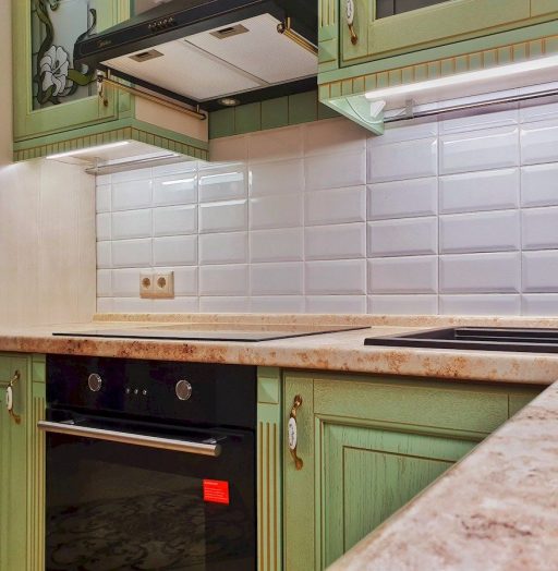 -Кухня из шпона «Модель 559»-фото6