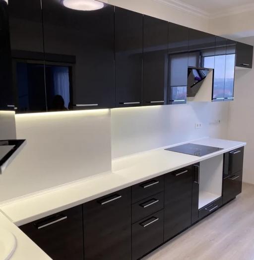 -Кухня МДФ в ПВХ «Модель 569»-фото25