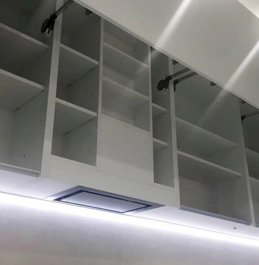 Белый кухонный гарнитур-Кухня МДФ в ПВХ «Модель 648»-фото5